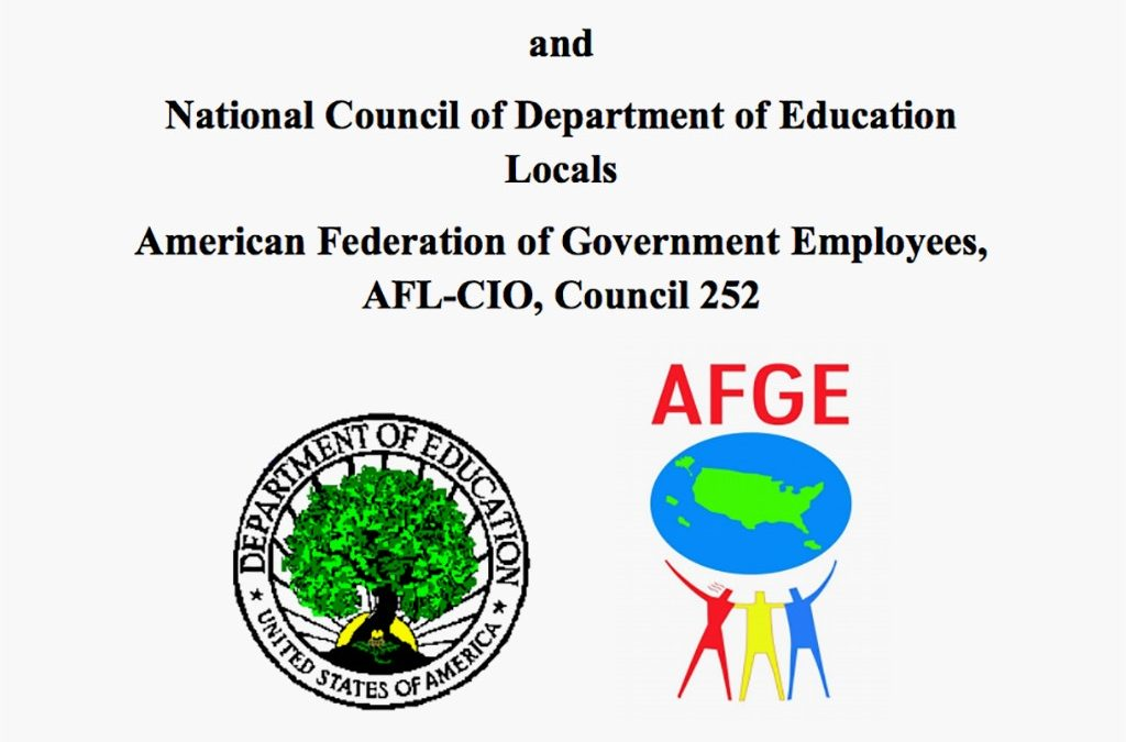 "U.S. Department of Education Unilaterally Imposes ""Collective Bargaining Agreement"""